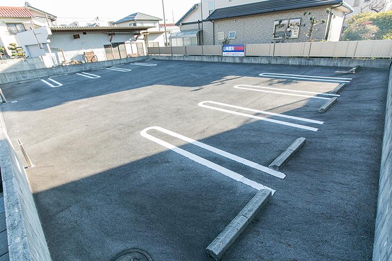 第二駐車場の案内