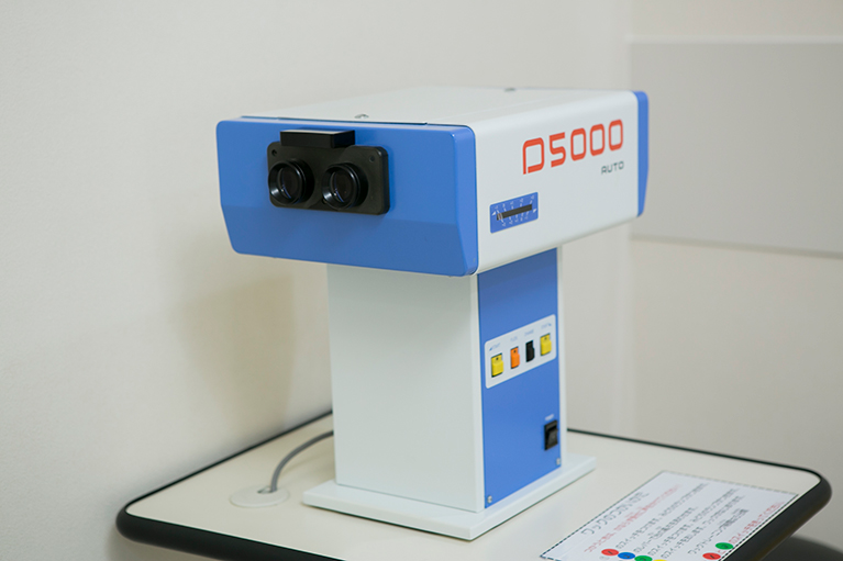 ワック仮性近視の調節訓練目的として使用します